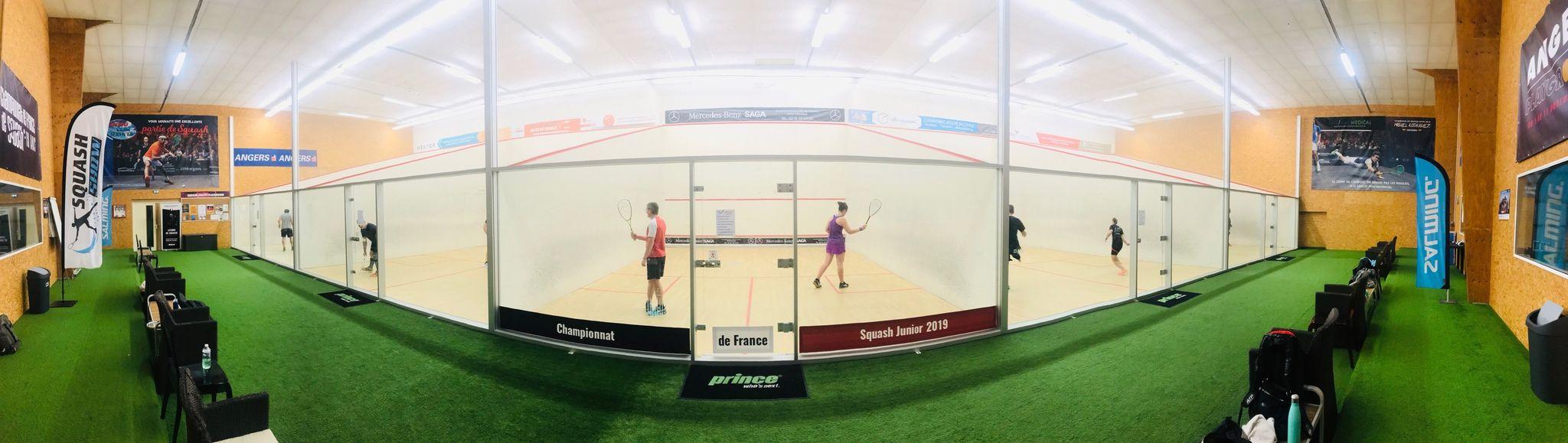 Club de squash à Angers